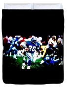 Barry Sanders On The Move Duvet Cover
