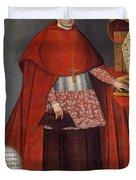 Bartholomew Fabro Y Palacios - Bishop Of Huamanga  Duvet Cover