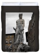 Bartolomeo's Neptune Fountain 2 Duvet Cover