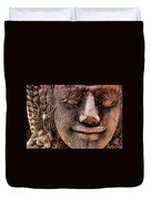Bas Relief, Angkor Wat Duvet Cover