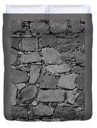 Basalt Wall Duvet Cover