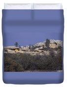 Base Camp - White Ledge Plateau - San Rafael Wilderness Duvet Cover