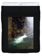 Base Of The Falls 1 Duvet Cover