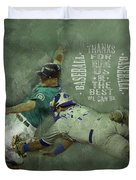 Baseball 01 Duvet Cover