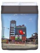 Baseball In Philadelphia - Citizens Bank Park Duvet Cover