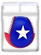 Baseball Star Duvet Cover