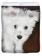 Bashful Puppy Duvet Cover