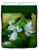 Basil Bloom Duvet Cover