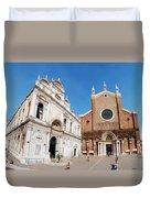 Basilica Dei Santo Giovanni E Paolo Duvet Cover