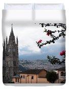 Basilica Del Voto Nacional Duvet Cover