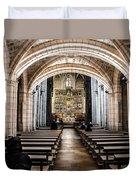 Basilica Of San Isidoro De Leon - Interior Duvet Cover