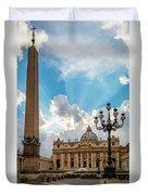Basilica Papale Di San Pietro Duvet Cover