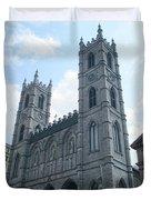 Basilique Notre Dame Duvet Cover