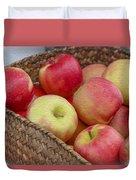 Basket Of Apples Duvet Cover