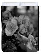 Basket Of Begonias Duvet Cover