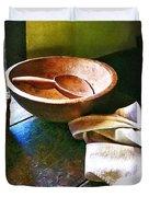 Basket Of Eggs Duvet Cover