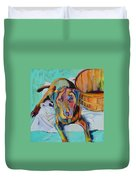 Basket Retriever Duvet Cover
