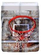 Basketball Art Version 28 Duvet Cover
