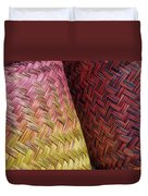 Baskets Of Provence Duvet Cover