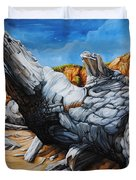 Basking In The Sun Duvet Cover