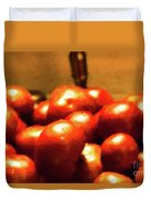 Basket Of Tomatoes M1 3309t2 - Photo Art Duvet Cover