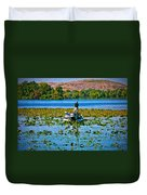 Bass Fishing Duvet Cover