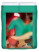 Bass Man Duvet Cover