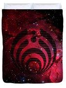 Bassnectar Galaxy Nebula Duvet Cover