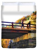 Bastion Falls Bridge 1 Duvet Cover