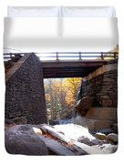 Bastion Falls Bridge 2 Duvet Cover
