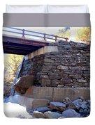 Bastion Falls Bridge 3 Duvet Cover