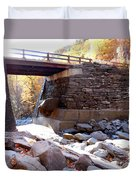 Bastion Falls Bridge 4 Duvet Cover