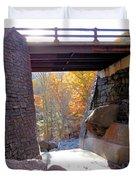 Bastion Falls Bridge 7 Duvet Cover