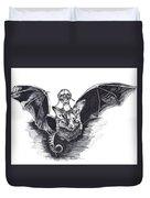 Bat Mobile Duvet Cover