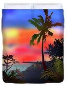 Echo Beach, Bali Duvet Cover