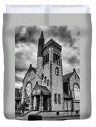 Batavia Baptist Church 2161 Duvet Cover