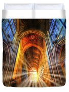 Bath Abbey Sun Rays Duvet Cover