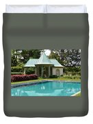 Chanticleer Bath House A Duvet Cover