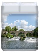 Bathampton Bridge Duvet Cover