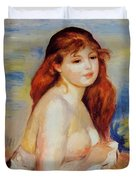 Bather 1887 Duvet Cover