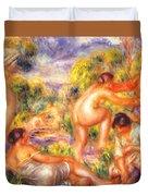 Bathers 1916 Duvet Cover