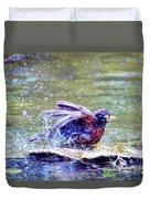 Bathing Beauty Duvet Cover