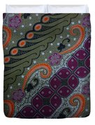 Batik Art Pattern Duvet Cover