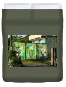 Batik Studio At Coba Village Duvet Cover