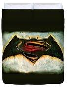 Batman Vs Superman Duvet Cover