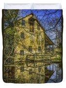 Batsto Gristmill Reflection Duvet Cover