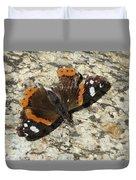 Battered Butterfly Duvet Cover