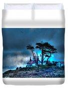 Battery Point Lighthouse Duvet Cover