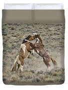 Battle For Dominance Duvet Cover