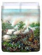 Battle Of Atlanta Duvet Cover